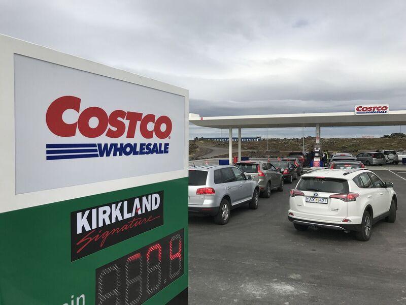 Færri landsmenn með Costco aðild